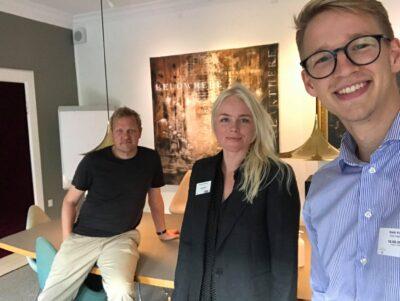 Mette Hybschmann og Kasper Holten